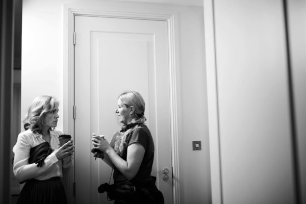 Actress Abi Cruttenden and Director Rebecca Coley. Photo by RELM Photography.