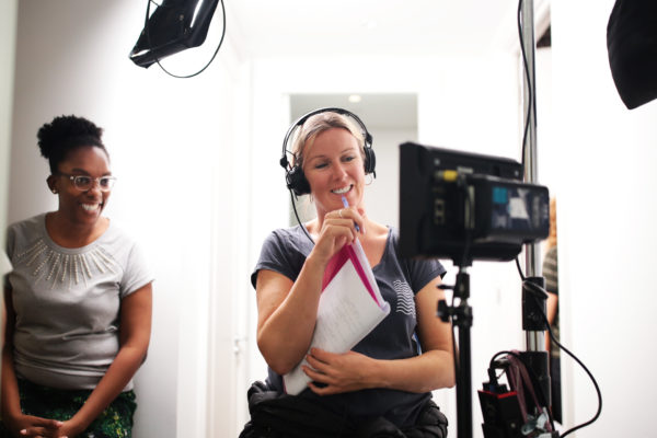 Producer Karla Williams and Director Rebecca Coley. Photo by RELM Photography.